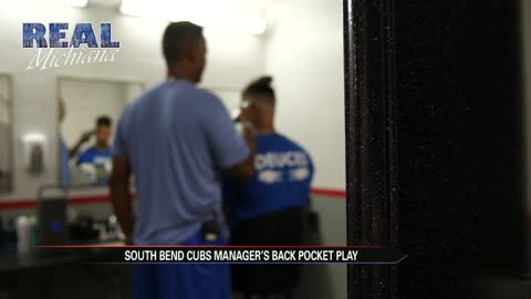 Real Michiana: South Bend Cubs manager reveals back pocket play