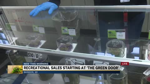 The Green Door starts selling recreational marijuana