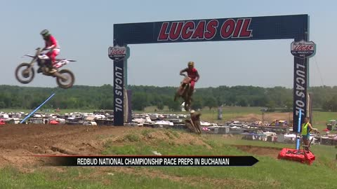 Michigan natives gear up for RedBud National motocross race