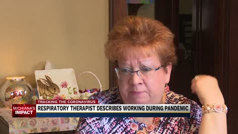 Respiratory Therapist describes work during Coronavirus Pandemic