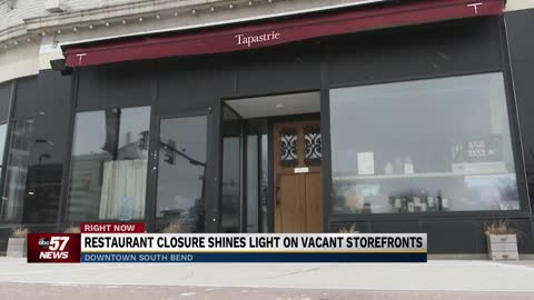 Restaurant closure shines light on vacant storefronts