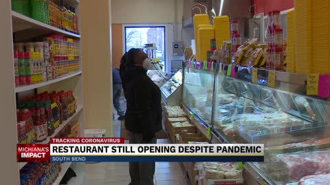 Restaurant still opening despite pandemic