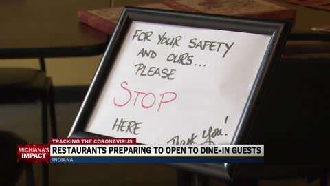 Restaurants reopening to dine-in customers 3