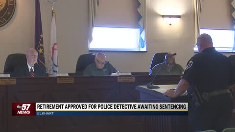 Retirement approved for Elkhart Police detective awaiting sentencing for harassment