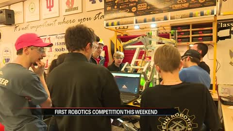 First Robotics competition hosted at Penn High School