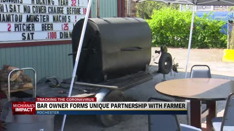 Rochester Night Club and local hog farmer partner to boost business