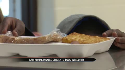 Sam Adams Elementary School provides free meals for students