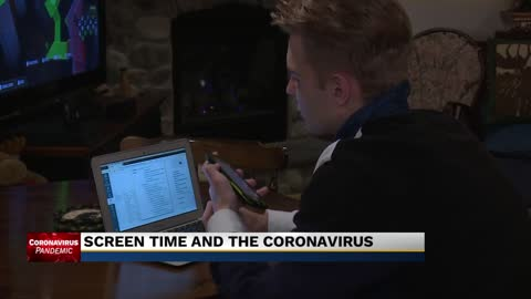 Screen time and the coronavirus