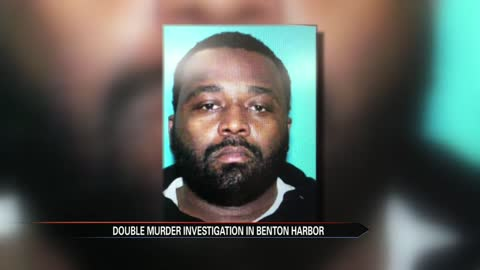 Search continues for Benton Harbor double murder suspect