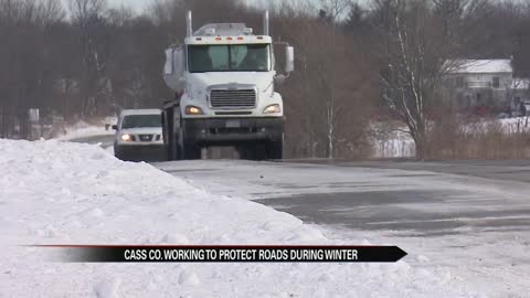 Seasonal truck weight restrictions save Cass County Road Commission money