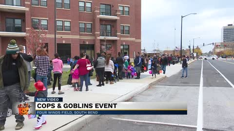 Second annual Cops & Goblins event held in South Bend