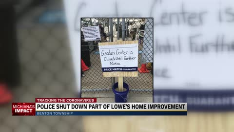 Lowe's in Benton Township issued Cease and Desist order