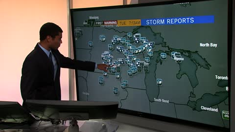 Monday afternoon Midwest storms bringing some help today