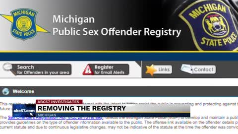 Aclu Pushes For Removal Of Sex Offender Registry