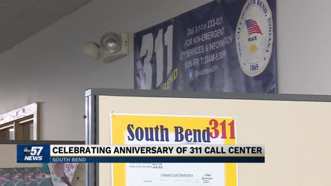 South Bend City officials celebrate seven-years of 311 Call Center