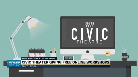 South Bend Civic Theatre offering free workshops online