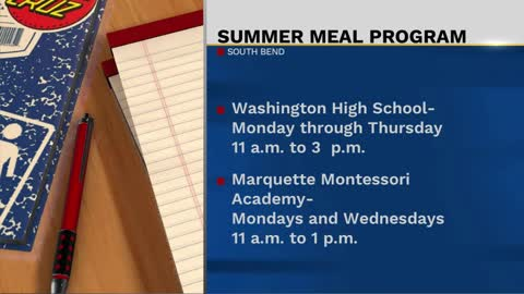 South Bend Community School Corporation summer food locations...