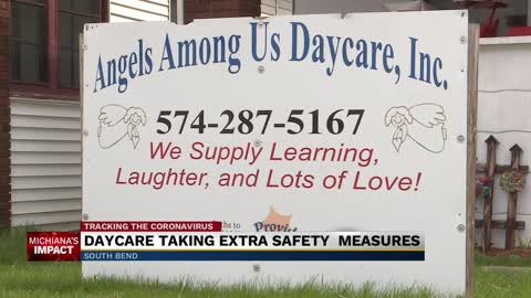 A South Bend daycare remains open during COVID-19