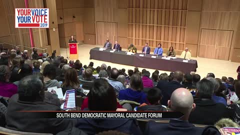 Forum for democratic candidates for South Bend mayor held at IUSB