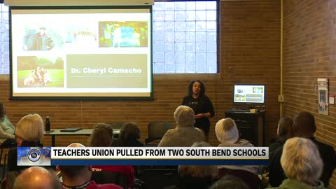 South Bend Empowerment Zone plans to pull teachers' union out...