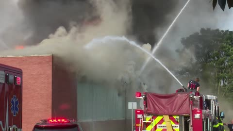 South Bend Fire Department provides update into commercial fire...