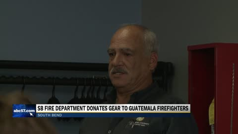 South Bend Fire donates equipment to Guatemalan firefighters