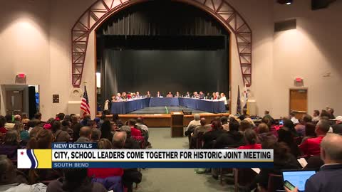 South Bend holds first ever joint Common Council School Board...