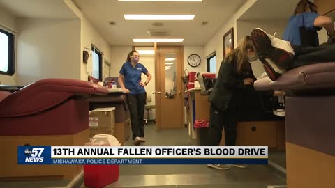 South Bend Medical Foundation holds a Fallen Officer blood drive