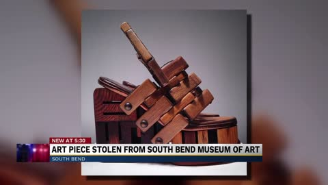 South Bend museum needs help recovering stolen artwork