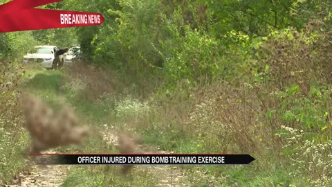 South Bend Police officer injured in incident at bomb squad training bunker