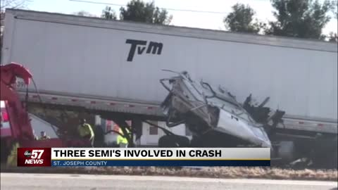 Semi driver dies from injuries sustained in crash on SR2