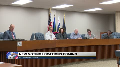St. Joseph County officials discuss changes to voting centers...
