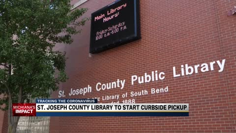 St. Joseph County Public Library will begin curbside pick-up on May 11