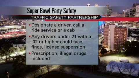 Safety tips for football fans ahead of Super Bowl