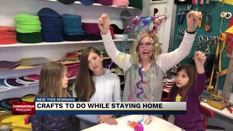 'Superkid Capes Creates' looks to make quarantine into craft time