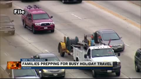 Busy travel week anticipated ahead of Thanksgiving