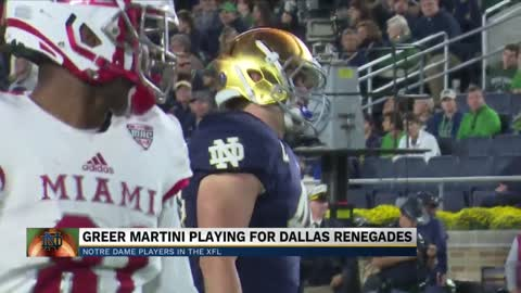 New iteration of the XFL has arrived and it will feature former Notre Dame players