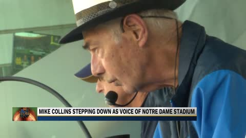The voice of Notre Dame Football to announce one final season
