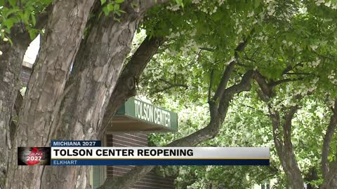 Tolson Center will soon reopen