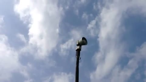 Tornado sirens to be tested during Severe Weather Preparedness Week
