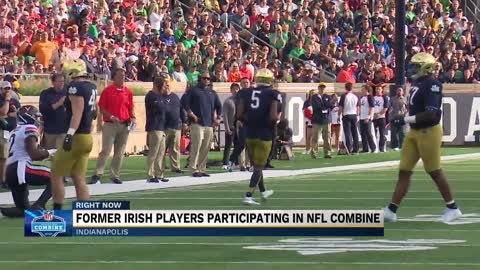 Trio of Notre Dame defensive backs take on the 2020 NFL Combine