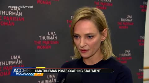 Uma Thurman turns anger on Harvey Weinstein in Instagram post