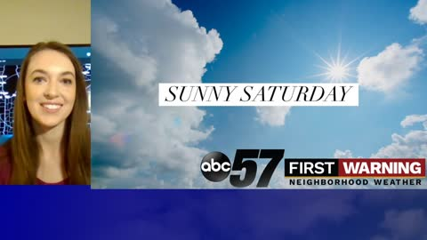 Despite chilly temperatures, you can still enjoy a sunny Saturday