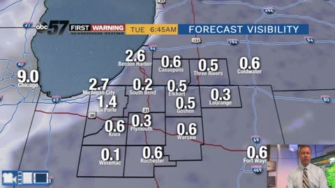 Morning fog, then more dry and mild weather ahead