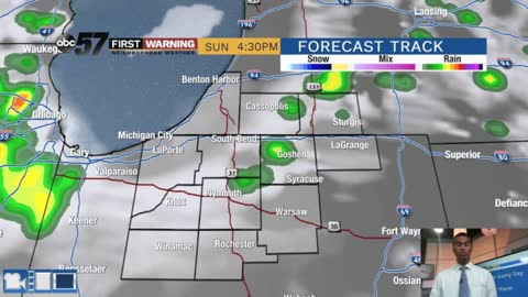 Slight PM rain chances today