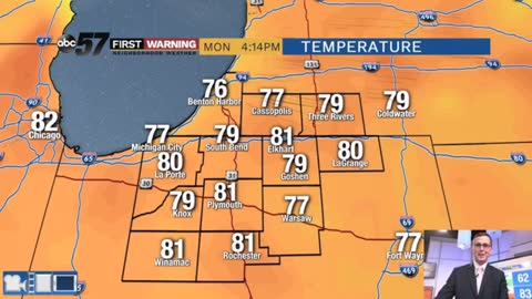 Summer heat, humidity and storms give way to fall-like pattern