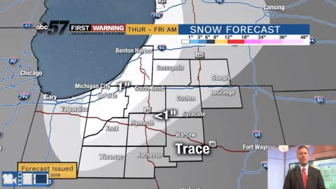 Cold blast will bring lake effect snow showers
