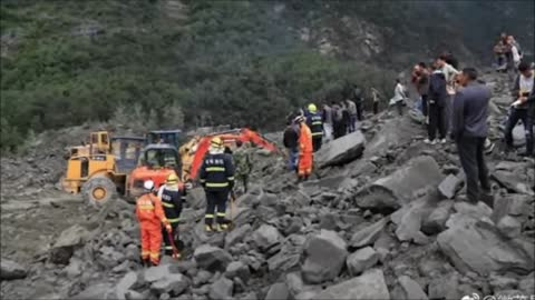 China landslide: 15 bodies recovered, 118 reported missing