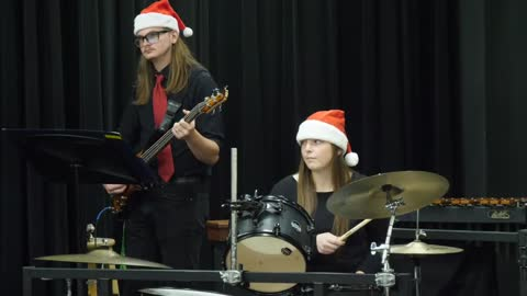 Plymouth H.S. Jazz Band: Sounds of the Season 2019