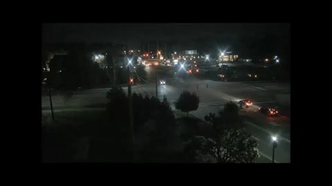 Cook Stadium raw video - Shows suspect vehicle driving away